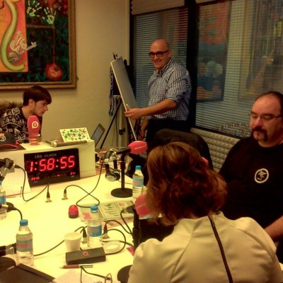 """Graphic Recording del Programa """"Zaragoza al Día"""""""