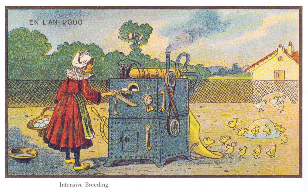Francia en el Siglo XX por Jean Marc Cote. Oveja Dolly?