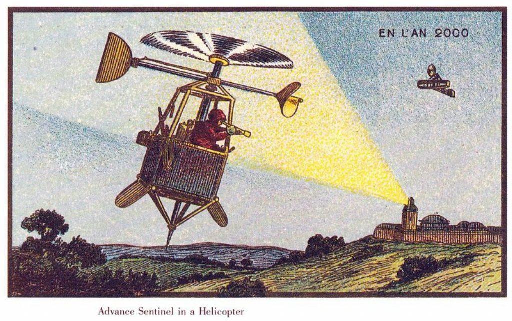 Francia en el Siglo XX por Jean Marc Cote. Drones Espias