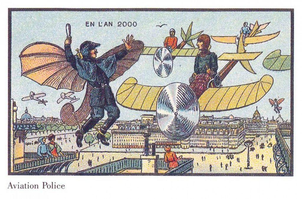 Francia en el Siglo XX por Jean Marc Cote. Aviation Police