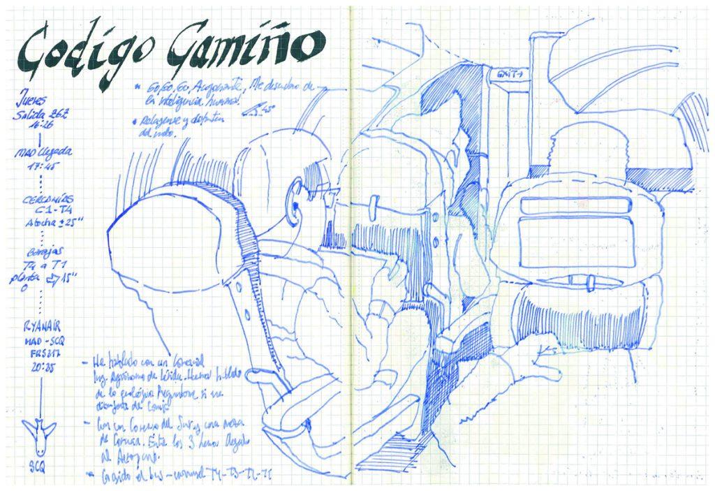 Facilitación Visual-Fernando Abadia. Código Camiño- Avion