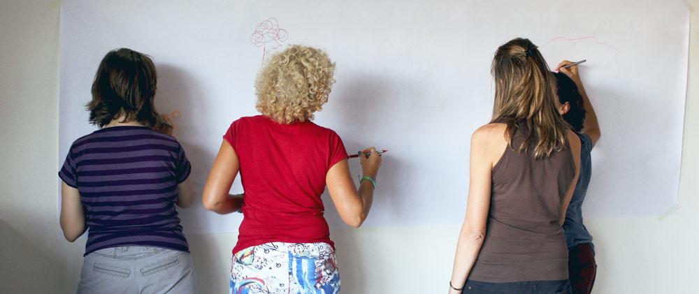 Taalleres de Visual Thinking en Zaragoza